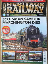 HERITAGE RAILWAY THE COMPLETE STEAM NEWS MAGAZINE ISSUE 156 OCTOBER 27 2011