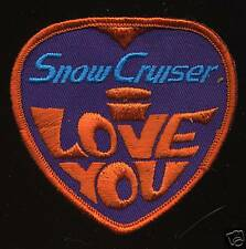 1969 Vintage Snowmobile Jacket Suit Patch Snow Cruiser