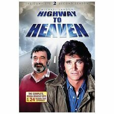 HIGHWAY TO HEAVEN SEASON 2 (DVD, 2013, 5-Disc Set) NEW