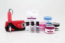 Synergy Acrylic Starter Kit Pro- Red 2--> includes monomer & E-File!!