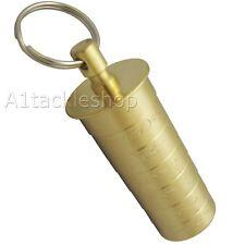 Bisley 20 Bore/20g Brass Shotgun Choke Gauge Identifier Shooting Keyring