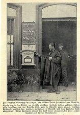 Die deutsche Reichspost in Tanger / Marokko  Historische Aufnahme von 1906