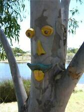 """""""Harry"""" Tree Face Mould - Garden Art for Trees, Fences, Walls Etc New"""