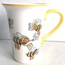 "Teleflora Bumble Bee Mug 1998 5"" Tall"