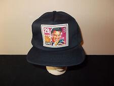 VTG-1990s Elvis Presley 29 cent US Postal Stamp collectors snapback hat sku31