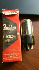 One (1) vintage Sheldon/Video 6AU5GT vacuum tube. NOS tested good.