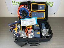 Fluke Dtx 1800 Fiber Cable Analyzer With Dtx Sfm2 Single Mode Modules Calibrated