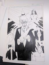 Original art for Wizard in Training #0; Upper Deck comic. COMPLETE ISSUE