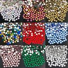 1440Pcs Top Quality Non Hot fix Rhinestones Flatback Crystal Nail Art Glass AB