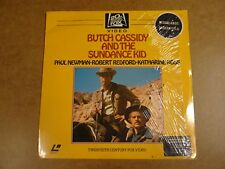 LASERDISC / BUTCH CASSIDY AND THE SUNDANCE KID (PAUL NEWMAN, ROBERT REDFORD...)