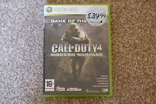 Xbox 360 Game, Call of Duty 4 Modern Warfare
