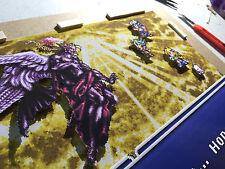 Final Fantasy 6 - SNES - Framed Diorama