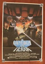 1981 Galactica CONQUEST OF THE EARTH movie poster Spanish vintage NEW 98 x 70