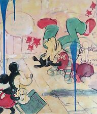"Disney Fine Art Jim Salvati ""Ringside"" Giclee On Canvas Limited Ed RETAIL 595.00"