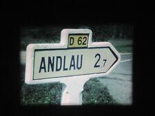 FILM SUPER 8 mm Amateur : En ALSACE - ANDLAU -  MITTELBERGHEIM