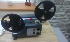 SANKYO DUALUX 1000 SUPER 8 8mm VARIABLE SPEED CINE PROJECTOR TESTED