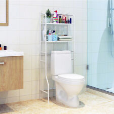 Over The Toilet Rack With 2 Shelf Bathroom Space Saver Towel Storage Organizer
