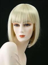 Medium Wigs Adorable China Doll Silky     Bleach Blonde    CH 8