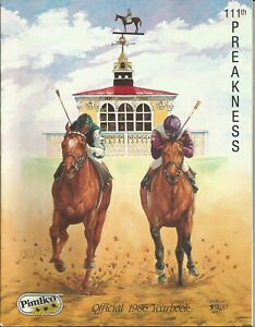 1986 - 111th Preakness Stakes Official Yearbook in MINT Condition