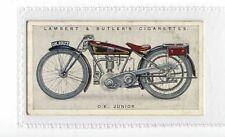 (Jz013-100) Lambert & Butler,Motor Cycles,O.K Junior,1923 #36