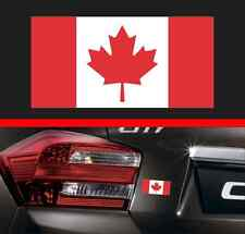 "4"" Canadian Flag Vinyl Decal Bumper Sticker Canada Maple Leaf Macbook JDM Decal"