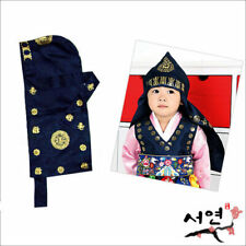 Traditional Korean Hanbok Baby Head Hooded Hat