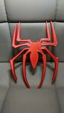 Large Thick Spiderman Logo - Boys Bedroom/Door/Wall Hanging/Covering + Fixings!