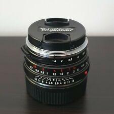 Voigtlander Nokton Classic 35mm 1.4 Leica M Mount