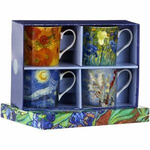 Van Gogh Set Of 4 Mugs