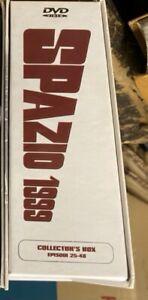 Cofanetto 8 DVD SPAZIO 1999 COLLECTOR'S BOX Stagione 2 24 EPISODI RARO