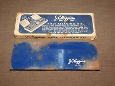Vintage Gun J C Higgins .22 Cal Rifle Cleaning Kit No. 713 Metal Box