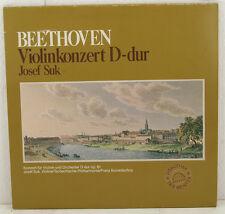"BEETHOVEN VIOLINKONZERT D-DUR JOSEF SUK FRANZ KONWITSCHNY 12"" LP (c249)"