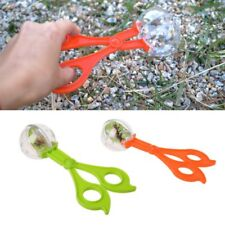 Plastic Bug Insect Catcher Scissors Tongs Tweezers For Children Kids Toy Handy