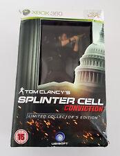 Splinter Cell Conviction Limited Collector's Edition SteelBook Sam Fisher Figure