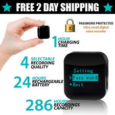 aTTo Premium USB Mini Spy Voice Activated Recorder Audio Dictation Microphone 4G