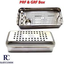 Dental Prf Complete Box Platelet Rich Fibrin Prfampgrf Cassette Implant Instrument
