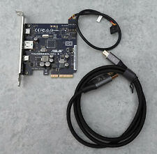 More details for asus thunderboltex 3 pcie expansion card, thunderbolt 40gbps, usb 3.1 10gbps