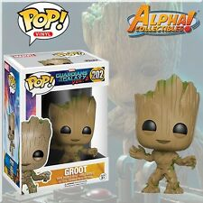 "FUNKO POP #202 MARVEL GUARDIANS OF THE GALAXY VOL 2 ""TODDLER BABY GROOT"""