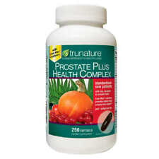 trunature Prostate Plus Health Complex 250 Softgels,Saw Palmetto w/ Zink,Lycopen