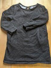 Old Navy Girls Black Sparkly Dress Pockets FREE P&P Size 3