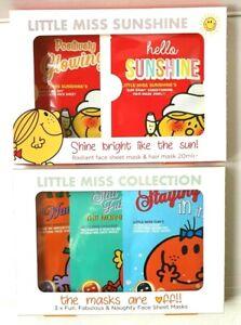 Little Miss Sheet Mask Collection Gift Sets - Face Sheet & Face & Hair Mask