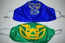 2 MASKS PACK WRESTLING MASK LUCHADOR WRESTLER MASK LUCHA LIBRE MEXICAN  MASK
