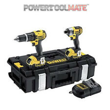 DeWalt DCZ285M2T 18V XR Combi Drill & Impact Driver Twin Kit with 2 x 4.0Ah Batt