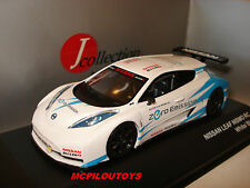 J-COLLECTION JC240  NISSAN LEAF NISMO RC WHITE / BLUE 2011  au 1/43°