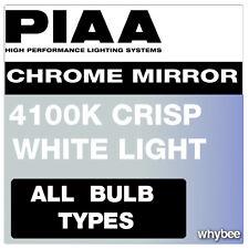SALE! PIAA CHROME MIRROR 4100K HEADLIGHT & FOGLIGHT BULBS H1 H3 H4 H7 HB3 HB4