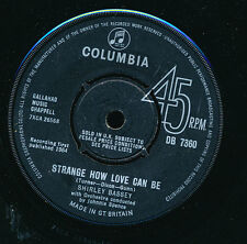 "SHIRLEY BASSEY 45 TOURS 7"" UK GOLDFINGER (FILM JAMES BOND 007)"