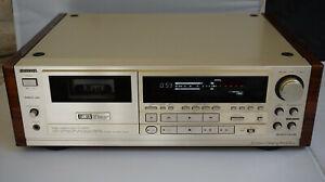 AIWA XK-S9000 cassette deck 18bit dualD/A Dolby B.C.S Manual Remote Control BOX