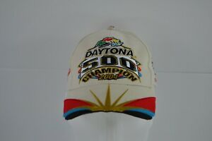 Dale Earnhardt Jr #8 Embroidered Daytona 500 Champion 2004 Hat Nascar Cap ADJ