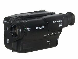 Grundig LC 535 E Video8 Camcorder - 8mm Video Camera Recorder