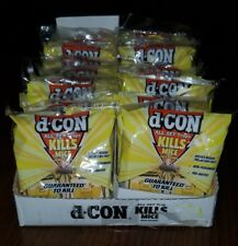 48 D-con Rodenticide Pre-Bait Wood Mouse Snap Trap 4/pack (Case of 12 packs)